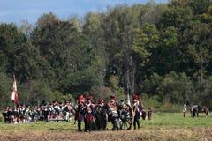 Borodino battle Stock Photos
