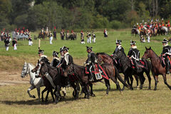 Borodino battle Stock Image
