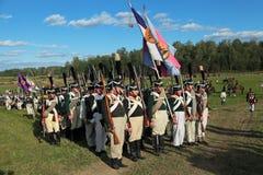 Borodino battle Royalty Free Stock Photo