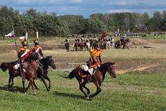 Borodino battle Stock Images