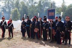 BORODINO, bitwa, Moskwa region, Rosja Fotografia Royalty Free