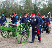 BORODINO, bitwa, Moskwa region, Rosja Zdjęcia Stock