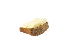 Borodino bread with chocolate Stock Image