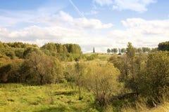 Borodino field Stock Photos
