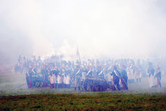 Borodino 2012 historical reenactment Royalty Free Stock Photo