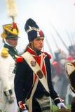 Borodino 2012 historiska reenactment Fotografering för Bildbyråer