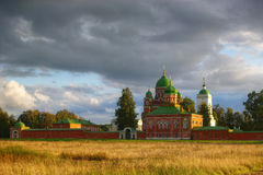borodino klasztoru spasso Zdjęcia Royalty Free