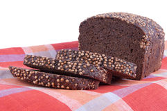 Borodino rye bread Royalty Free Stock Image