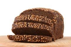 Borodino rye bread Stock Image