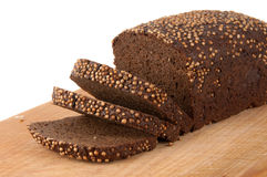 Borodino rye bread Royalty Free Stock Photo