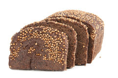 Borodino rye bread Royalty Free Stock Images