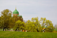 Borodino Savior Convent Royalty Free Stock Photo