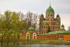 Borodino Savior Convent Royalty Free Stock Image