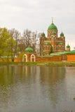 Borodino Savior Convent royalty free stock photography