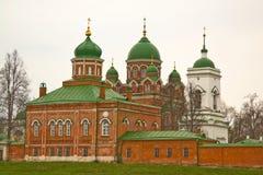 Borodino Savior Convent stock photos
