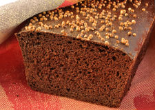 Borodinsky rye bread. royalty free stock photos
