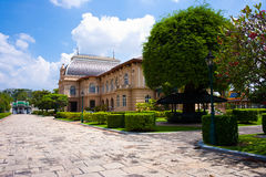 Borom Phiman Mansion, Wat Phra Kaew Royalty Free Stock Photos