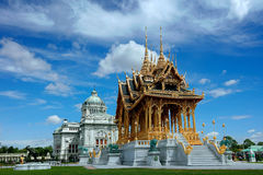 Borommangalanusarani Pavilion the art of kingdom, Bangkok, Thail Royalty Free Stock Photography