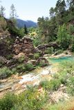 Borosa river source  Cazorla Segura sierra Spain Royalty Free Stock Photography