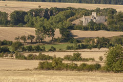 Borotin castle ruins Stock Images