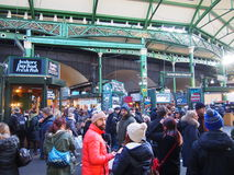 Borough Market. The borough Market is a big food market in central London Royalty Free Stock Photography