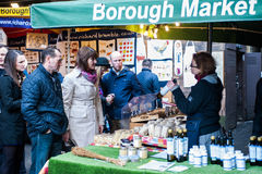 Borough Market in London Royalty Free Stock Photography