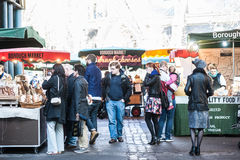 Borough Market in London Royalty Free Stock Photos