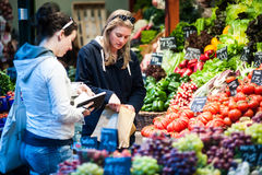 Borough Market in London Stock Photography