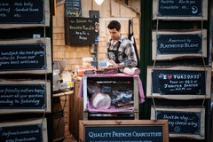 Borough Market in London Royalty Free Stock Photo