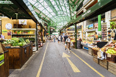 Borough market, London Stock Image
