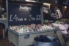 Borough market in London Stock Image