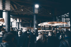 Borough Market in London. Royalty Free Stock Photography