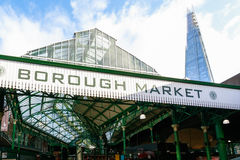 Borough Market in London Stock Image