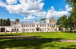 History museum of city in Borovichi, Russia Stock Images
