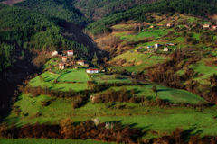 Borovitsa village, Eastern Rhodopes, Bulgaria Stock Images