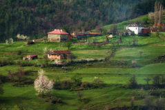 Borovitsa village, Eastern Rhodopes, Bulgaria Royalty Free Stock Photo