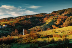 Borovitsa wioska, Wschodni Rhodopes, Bułgaria Fotografia Stock