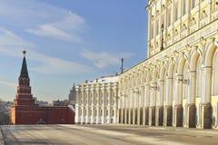 Borovitskaya Tower and Armoury Chamber Royalty Free Stock Image