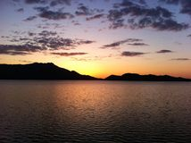 Borovoe jezioro w Kazachstan Obrazy Stock
