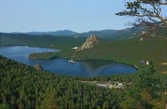 borovoekazakhstan lake Royaltyfri Fotografi