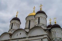 Borovsk Orthodox monastery in the Kaluga region (Russia). Stock Image