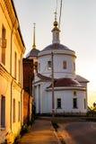 Borovsk, Russie - 18 août 2018 : Église de transfiguration dans Borovsk photos stock