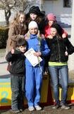 Borovska Nadiya, vincitore dei 20.000 tester corre Fotografia Stock Libera da Diritti