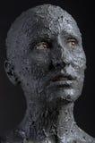 Borowinowa twarz Fotografia Royalty Free