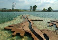 Borowinowa wyspa, Memphis, Tennessee obrazy stock