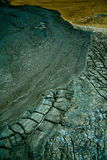 Borowinowi volcanoes zdjęcia stock