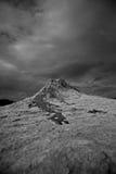 Borowinowi volcanoes fotografia stock