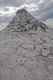 Borowinowi volcanoes Berca, Buzau, Rumunia Obraz Royalty Free
