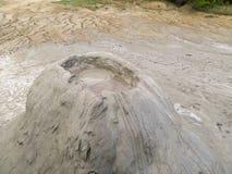 Borowinowy wulkan Zdjęcie Royalty Free