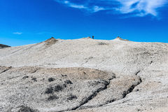 Borowinowy wulkan Fotografia Stock